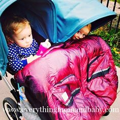 Everything Mom and Baby: Looking for a warm double stroller cover? We love the @7AMEnfant Duo Double Stroller Blanket!