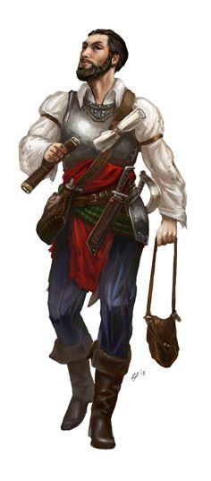 m npc town mayor med armor Sword Dagger Scrolls Adlige Entdecker Fantasy Armor, Medieval Fantasy, Dark Fantasy, Character Concept, Character Art, Character Design, Fantasy Portraits, Character Portraits, Dnd Characters