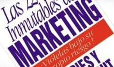 """Y para recordar siempre… """"Las 22 leyes inmutables del Marketing"""""""