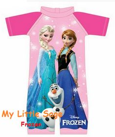 Frozen Swimsuit for age 2 to 9
