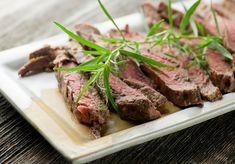 Grilled Tarragon Mustard Steak - Framed Cooks