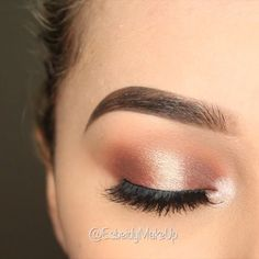 Hi Beauties ! Press Play  Warm Halo Eye Using @anastasiabeverlyhills Modern Renaissance Palette  Shadows: Burnt Orange, Realgar, Red Ochre,Cyprus Umber, and Primavera  Brushes: @anastasiabeverlyhills Brush which comes with the palette(This brush works soooooo good!) Also used the @sigmabeauty E54 to pack on shimmer Use Code: BEIDYXO for $ off all Sigma! Link in Bio.  Lashes: @luxylash Homegirl…