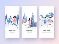 healthy easy breakfast ideas to lose weight diet food list Teen Couples, Mobile App Ui, Diet Food List, Winter Is Here, Landing Page Design, Flat Illustration, Web Design Inspiration, Funny People, App Design