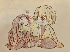 Chibi Anime, Kawaii Chibi, Cute Chibi, Kawaii Anime, Anime Art, Demon Slayer, Slayer Anime, Chibi Tokyo Ghoul, Anime Sketch