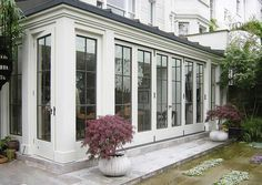 Folding Doors by Architectural Bronze Casements