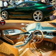 Bentley EXP 10 Speed 6 Concept • via @bentley_fan #carvoyage . . . #luxuries…