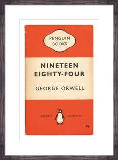 Nineteen Eighty-Four by Penguin Books from King & McGaw