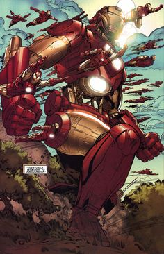 Iron Man enters in war against the glory nation of Wakanda