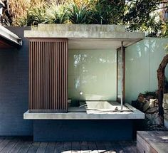 Indoor/outdoor bathtub - exactly what I want!