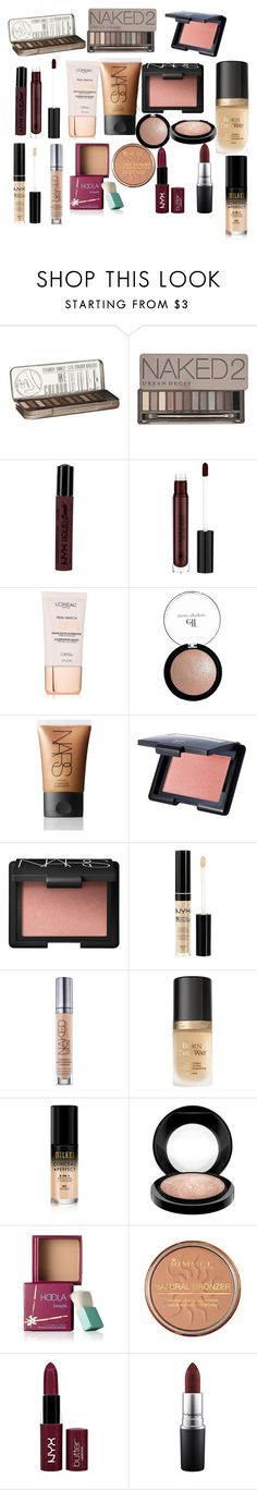 """""""dope"""" by katywillcat on Polyvore featuring beauty, Urban Decay, NYX, Anastasia Beverly Hills, L'Oréal Paris, e.l.f., NARS Cosmetics, Too Faced Cosmetics, MAC Cosmetics and Benefit"""