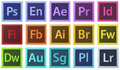 Adobe Creative Cloud Apps - Adobe Rush vs Premiere Pro from a Newbie Perspective Adobe Photoshop, Photoshop Illustrator, Lightroom Presets, App Design, Tool Design, Adobe Animate, Adobe Audition, Adobe Software, Creative Suite
