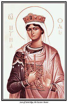 St Olga Passion Bearer