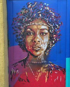 Street art in Madrid, Spain, 2016