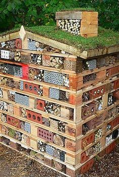 Schöne Bienenhotels bauen Build beautiful bee hotels build Building beautiful Bee HoThese 18 mistakes in constructionBuild insect hotel: Baua