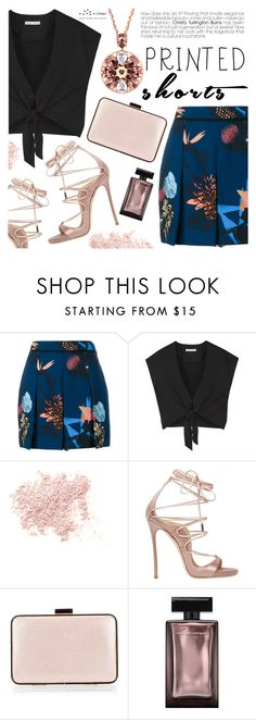 """""""Prints Charming: A Shorts Story"""" by totwoo ❤ liked on Polyvore featuring Proenza Schouler, Alice + Olivia, Bare Escentuals, Dsquared2 and Coccinelle"""