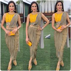 Check out some latest threadwork blouse design to wear on a wedding or any other function. These threadwork blouse designs 2019 will increase the grace of your designer sari and make you look gorgeous. Indian Fashion Dresses, Indian Designer Outfits, India Fashion, Indian Outfits, Look Fashion, Eid Outfits, Saree Fashion, Asian Fashion, Blouse Back Neck Designs