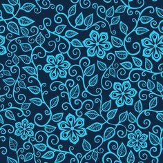 Pattern design on Pantone Canvas Gallery