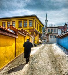 Odunpazarı houses Eskişehir Turkey