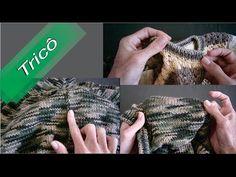 DIY - Tricô - Dicas de Acabamento e Arremate 01 (Passo a Passo) - YouTube