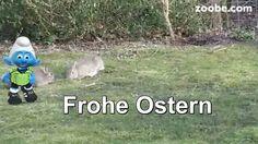 Ostern Osterei Schöne Ostertage Schlumpf der Schlümpfe von Zoobe deutsch