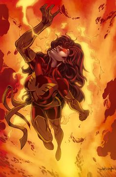 The Goddess Art by: Unknown  I don't care what anybody says… Jean Grey is the sexiest female comic book character ever!