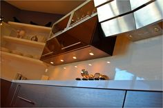 Upper Height high gloss and veneer combo Bay Area, High Gloss, Track Lighting, Stairs, Ceiling Lights, Contemporary, Home Decor, Stairway, Decoration Home