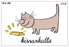 Visit the post for more. Finnish Words, Vocabulary, Comics, Cats, Funny, Animals, Gatos, Animales, Animaux