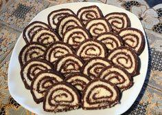 Bounty tekercs (keksztekercs, kókuszos mascapone krémmel) Hungarian Desserts, Hungarian Recipes, No Bake Cake, Cake Cookies, Sweet Recipes, Nutella, Sweet Treats, Food And Drink, Yummy Food