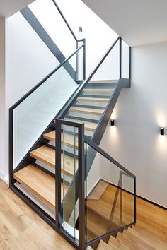 1-9 Peel Place I Residential project I Architecture I Residential development I Interiors I European oak stairs I Bespoke stairs I Dexter Moren Associates