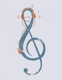 Treble Clef. #musicnotes http://www.pinterest.com/TheHitman14/music-symbols-%2B/