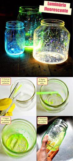Tutoriais | Luminária Fluorescente