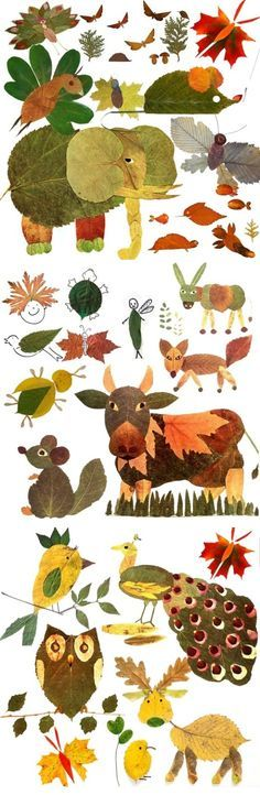 art projects for kids using nature * art using nature for kids Autumn Crafts, Fall Crafts For Kids, Autumn Art, Nature Crafts, Projects For Kids, Diy For Kids, Autumn Leaves, Art Projects, Leaf Crafts