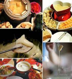 cheese fondue yummy :)