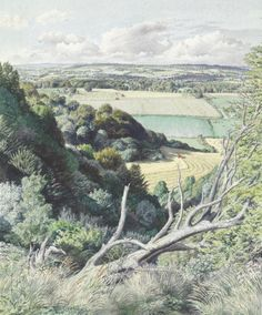 View The steep wood by Stanley Roy Badmin on artnet. Browse upcoming and past auction lots by Stanley Roy Badmin. House Landscape, Landscape Art, Landscape Paintings, Landscape Tattoo, Watercolor Landscape, English Artists, Comic Pictures, Fantasy Illustration, Art For Art Sake