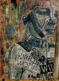 Self portrait 1 . digital collage in 2019 identity art, art, art sketchbook Art Journal Pages, Architecture Texture, Gcse Art Sketchbook, Gif Disney, Ap Studio Art, Saatchi Gallery, A Level Art, Collage Art, Collage Portrait