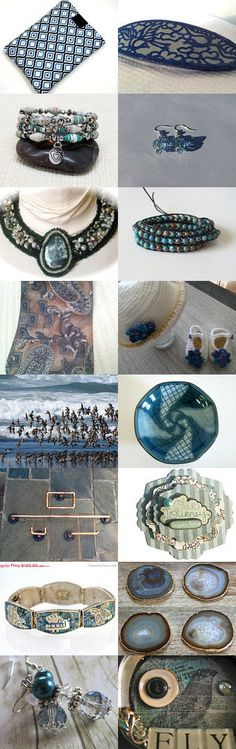That's Why They Call It The Blues. by Jackie Benedict on Etsy--Pinned with TreasuryPin.com