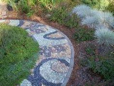pathway idea pebbles