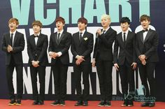 Bangtan in suits...PLEASE LORD ALMIGHTY LET THEM COME TO KCON!!!!!!