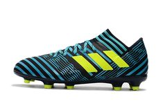 294fb8424 2017-2018 FIFA World CUP New Soccer Cleats Adidas Nemeziz Messi 17 1 FG  Blue Black Yellow
