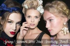 cool Spring/Summer 2015 Hair Accessory Trends