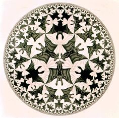 MC Escher. Angels and Demons