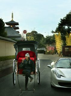 Tokyo, great picture! Modernity vs. Traditions.