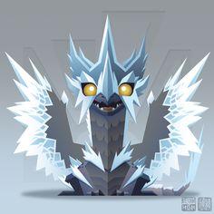 "Velkhana - the ""Ice Dragon"" from Capcom's Monster Hunter World: Iceborne :) Monster Hunter Memes, Monster Hunter World, Ice Monster, Monster Art, Monster Concept Art, Fantasy Monster, Cute Fantasy Creatures, Mythical Creatures, Dragon Mythology"