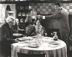 Edward McWade, Jean Adair, Josephine Hull and Cary Grant in Arsenic and Old Lace
