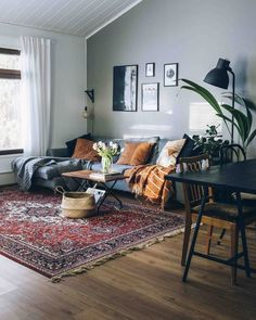 Masculine Interior and Decorating Inspiration with Colors is part of Hygge home - Looking for masculine interior inspiration that features more colors than just black and gray and red We'll show you what to look for, plus tons of photos Eclectic Living Room, Home Living Room, Apartment Living, Interior Design Living Room, Living Room Designs, Cosy Living Room Warm, Eclectic Decor, Manly Living Room, Modern Decor