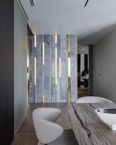 Enhance Your Senses With Luxury Home Decor Home Design, Loft Interior Design, House Paint Interior, Lobby Interior, Apartment Interior, Interior Walls, Apartment Design, Interior And Exterior, Exterior Design