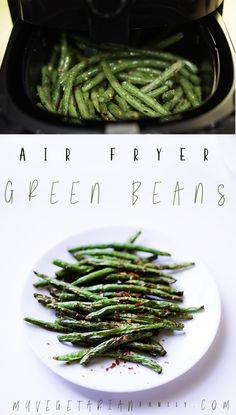 Air Fryer Green Beans By myvegetarianfamil. Green beans with very little oil, . - Air Fryer Green Beans By myvegetarianfamil… Green beans with very little oil, done in 8 minutes, - Air Fryer Recipes Potatoes, Air Fryer Oven Recipes, Air Frier Recipes, Air Fryer Recipes Vegetables, Avocado Toast, Sauce Pizza, Air Fryer Pork Chops, Air Fryer Healthy, Cooking Recipes