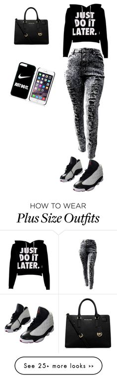 """""""Untitled #67"""" by sparkledavis on Polyvore featuring NIKE and MICHAEL Michael Kors"""