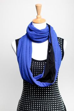 Sholdit scarf with hidden pocket for your phone, cards, keys, etc. Best thing ever. Scarf Ideas, Travel Europe, Scarfs, Scarf Wrap, Convertible, Keys, Infinity, Wraps, Gift Ideas