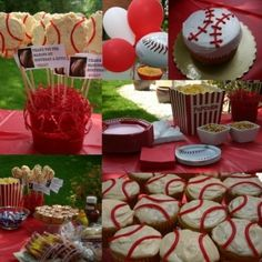 baseball birthday party by ava